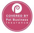 Small Trust Badge - Covered by Pet Business Insurance